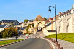 Old town Laon Stock Images