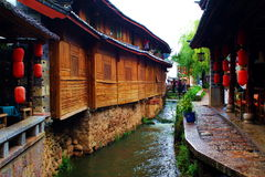 Old Town of Lijiang. China Yunnan Lijiang Old Town royalty free stock photo