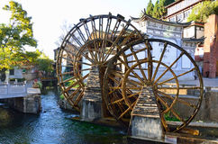 Old Town of Lijiang Stock Image