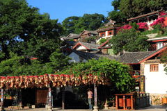 Old town - Lijiang Stock Photography