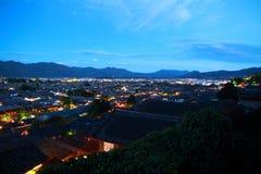 Old Town of Lijiang at night Royalty Free Stock Photos