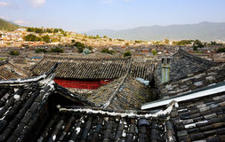 The old town of Lijiang scenery Stock Photo