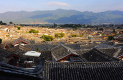 The old town of Lijiang scenery Royalty Free Stock Photo