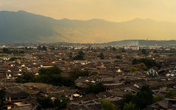 The old town of Lijiang scenery Stock Photography