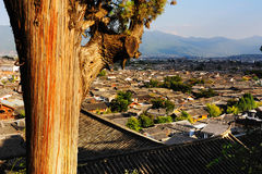 The old town of Lijiang scenery Royalty Free Stock Images