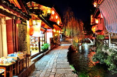 Old Town of Lijiang stock photo