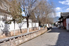 Old Town of Lijiang Royalty Free Stock Photography