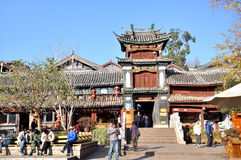 Old Town of Lijiang Royalty Free Stock Images