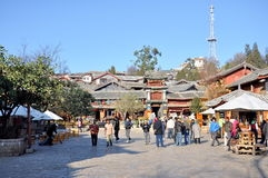 Old Town of Lijiang Royalty Free Stock Photos