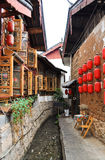 The Old Town of Lijiang,Yunnan province,China. The Old Town of Lijiang was listed by UNESCO in 1997 World Heritage List royalty free stock images