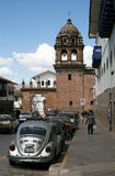 Old town in Lima, Peru Royalty Free Stock Photos