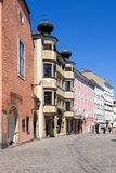 Old Town of Linz Stock Photo