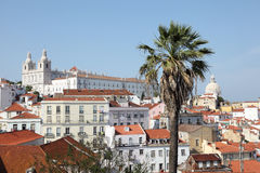 Old town of Lisbon, Portugal Royalty Free Stock Photo