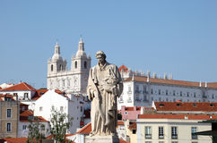 Old town of Lisbon, Portugal Royalty Free Stock Photos