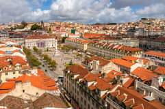 Old town of Lisbon, Portugal Stock Photos