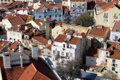 Old Town in Lisbon Royalty Free Stock Image