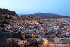 Old town of Lorca, province of Murcia, Spain Royalty Free Stock Image