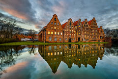 Old town of Lubeck, Germany Royalty Free Stock Photo