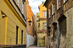 Old town Lublin Stock Photos
