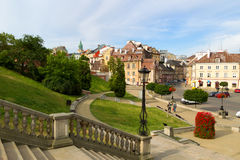 Old town of Lublin city. Stock Image