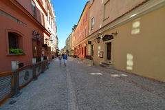 Old town of Lublin. City in Poland. Royalty Free Stock Photos
