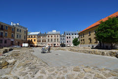 Old town of Lublin. City in Poland. Royalty Free Stock Photography