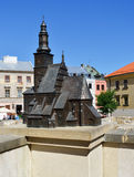 Old town of Lublin. City in Poland. Stock Photography