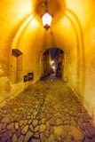 Old town of Lublin at night Stock Photo