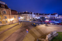 Old town of Lublin at night Royalty Free Stock Photos