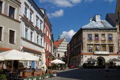 Lublin, Lubelskie, Poland. Old town in Lublin, one  the most important cities in Poland`s history stock photos