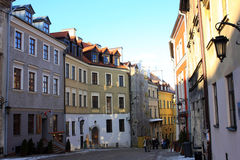Old town of Lublin, Poland Stock Photography