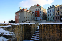 Old town of Lublin, Poland Royalty Free Stock Photography