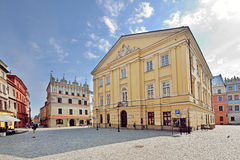 The Old Town in Lublin, Poland stock photography