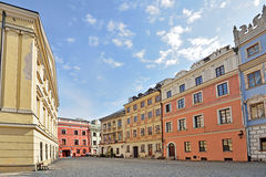 The Old Town in Lublin, Poland Royalty Free Stock Photo