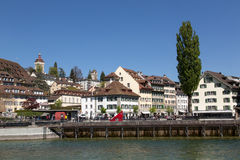 Old town of Lucerne Royalty Free Stock Images