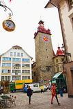 Old town Lucerne Switzerland Royalty Free Stock Photos