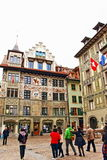 Old town Lucerne Switzerland Royalty Free Stock Image