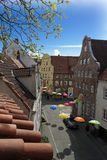 Old town of luebeck Stock Photography