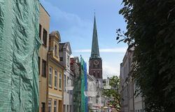 Old town of luebeck Stock Image
