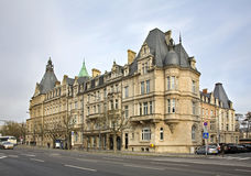 Old town in Luxembourg city.  Luxembourg Royalty Free Stock Photography