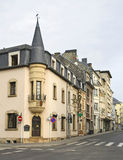 Old town in Luxembourg city.  Luxembourg Royalty Free Stock Image
