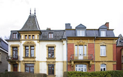 Old town in Luxembourg city.  Luxembourg Stock Image