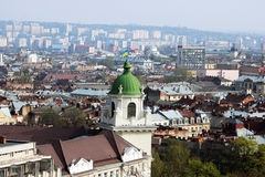 Old town Lviv. Photo taken in the old city of Lviv Stock Photo