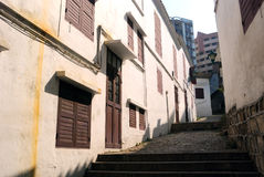 Old town, Macao Stock Photo
