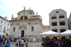 Old town main street,Dubrovnik Royalty Free Stock Images