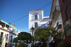 The Old Town of Marbella on the Costa Del Sol Andalucia, Spain Royalty Free Stock Photography