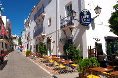 Old Town Marbella Royalty Free Stock Photos