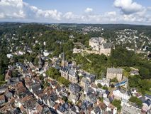 Old town of Marburg, Germany Royalty Free Stock Photos