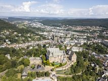 Old town of Marburg, Germany Stock Photography