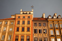 Old Town Market Place, Warsaw, Poland Stock Photo